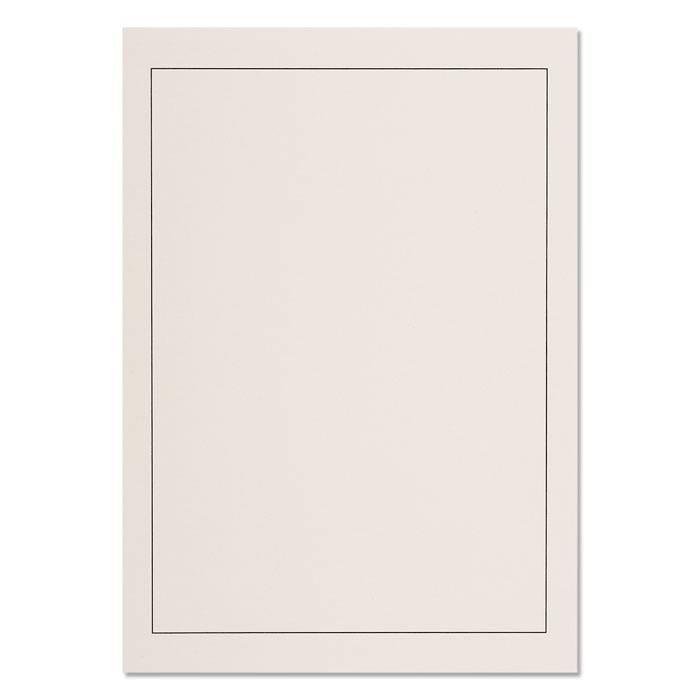 Listy GRANDE P2 - s černým rámem, A4 (bal. 40 ks)