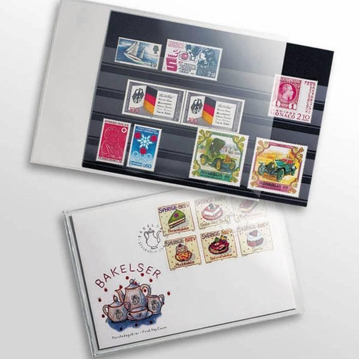 HP10 - folie na staré pohlednice 145x95 mm (bal. 50 ks)