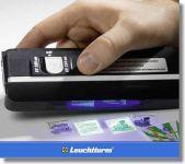Dvojitá UV lampa - florescence + fosforence - na bankovky, známky, karty
