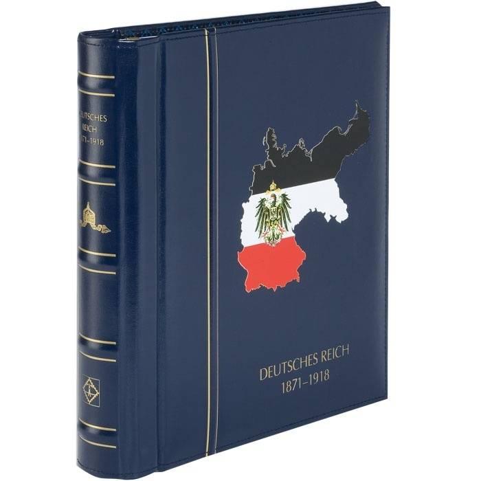 Pákové desky + kazeta - DEUTSCHES REICH 1871-1918 (Kaiserreich)