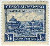 (1939) č. 351 ** Československo - 1. sněm Karpatské Ukrajiny