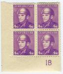 (1945) č. 400 ** - 4-bl - DZ 1B