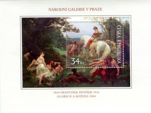 Česká pošta (2009) A 617 ** - Umění 2009