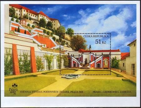 Česká pošta (2008) A 562 ** - Ledeburská zahrada