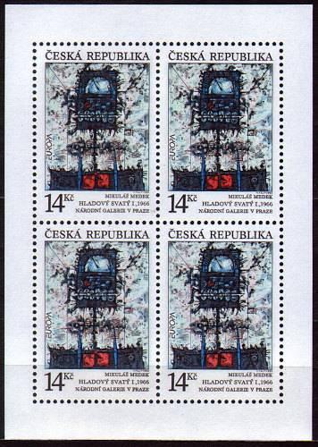 (1993) PL 5 ** - 14 Kč - Hladový svatý Česká pošta