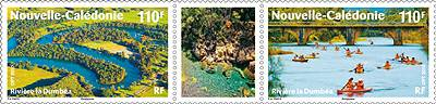 (2010) č. 1528-1529 ** - Nová Kaledonie - řeka Dumbea