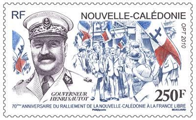 (2010) č. 1544 ** - Nová Kaledonie - guvernér Henri Sautot Nouvelle-Calédonie