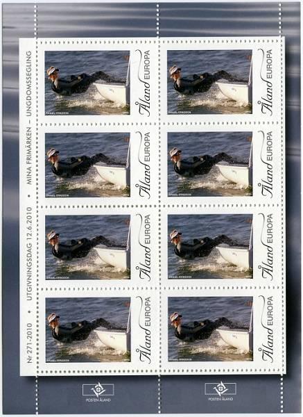(2010) č. 330 ** - PL - Aland - My Stamp 2010