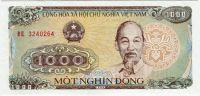 Vietnam - (P106) - 1000 Dông (1988) - UNC