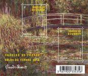 (2010) č. 4874-4875 ** - Francie - BLOCK 127 - Monet