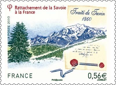 (2010) č. 4837 ** - Francie - 150 let přičlenění Savoyska k Francii