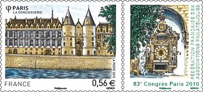 (2010) MiNr. 4948 ** - Francie - 83. kongres francouzských filatelistů