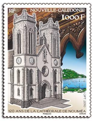(2010) č. 1537 ** - Nová Kaledonie - 120 let katedrály v Noumea Nouvelle-Calédonie