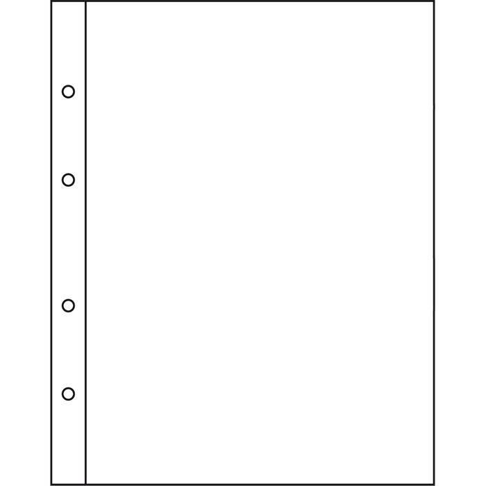 NUMIS listy - NH 1C - průhledné (bal. 10 ks) Leuchtturm