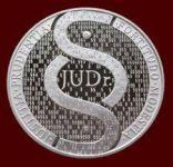 Stříbrná titulární medaile - JUDr. (proof)