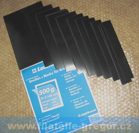 Havidky černé - 210 ks pásků - 500g