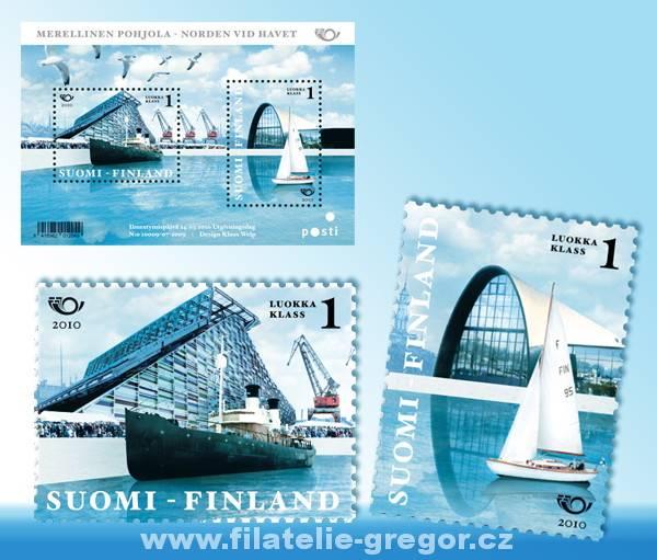 (2010) č. 2033-2034 ** - Finsko - BLOCK 58 - Severské námořnictví