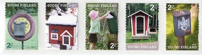 Posti Finland (2011) č. 2080 - 2084 ** - Finsko - poštovní schránky
