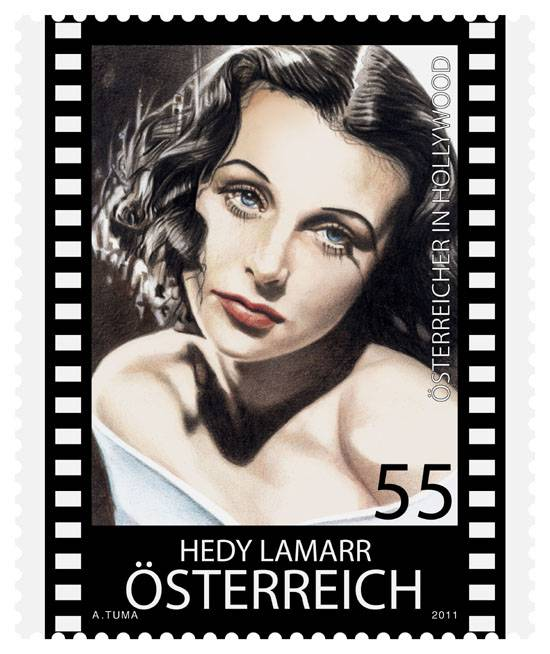 (2011) MiNr. 2911 ** - Rakousko - Hedy Lamarr