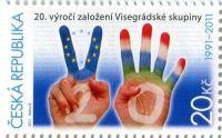 (2011) č. 673 ** - Česká republika - Visegrádská skupina