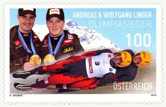 (2010) MiNr. 2894 ** - Rakousko - bratři Lingerové