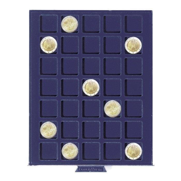 SMART - box na mince - čtverečky 35 x do ø 27 mm