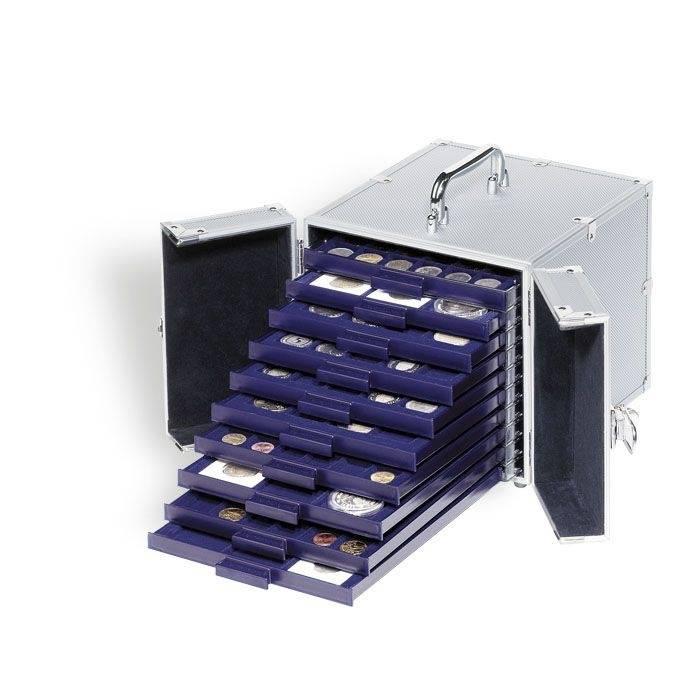 SMART - hliníkový kufr na 10 boxů