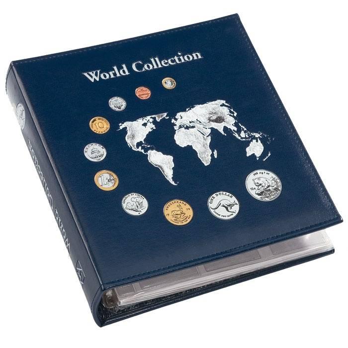 Album na mince NUMIS - World collection (na 143 ks mincí) Leuchtturm