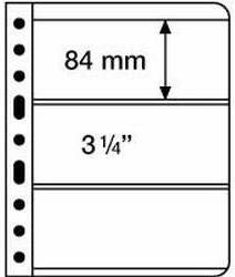 VARIO listy 3S - černé (bal. 5 ks) Leuchtturm