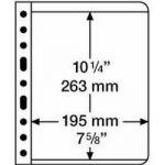 Kunststoffhüllen VARIO, 1er-Einteilung, klare Folie