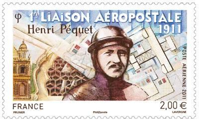 (2011) č. 5043 ** - Francie - první letecká pošta