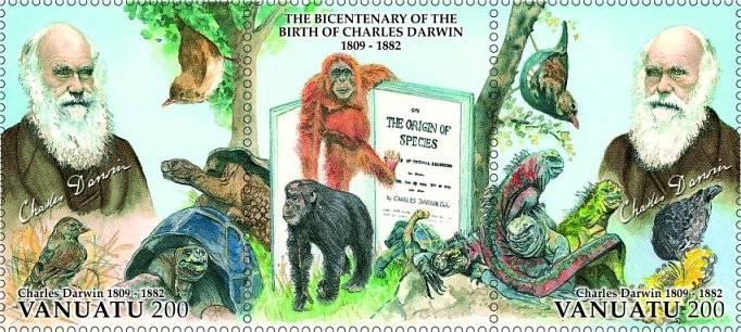 (2009) č. 1399-1400 ** - Vanuatu - Charles Darwin