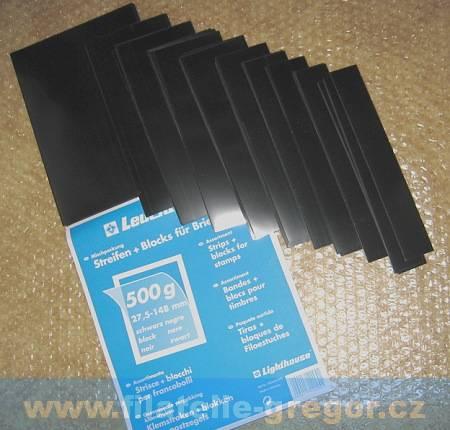 Havidky černé - 70 ks pásků - 200g