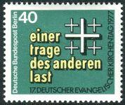 (1977) č. 548 ** - Berlín - západní - Německá evangelická církev