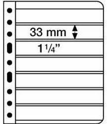 VARIO listy - 7C - průhledné listy (bal. 5 ks)