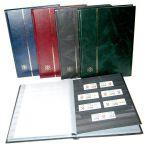 Leuchtturm zásobník na známky BASIC - A4, 32 stran, černé listy,