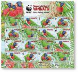 (2011) č. 1443-1446 ** - Vanuatu - arch - papoušci na Vanuatu