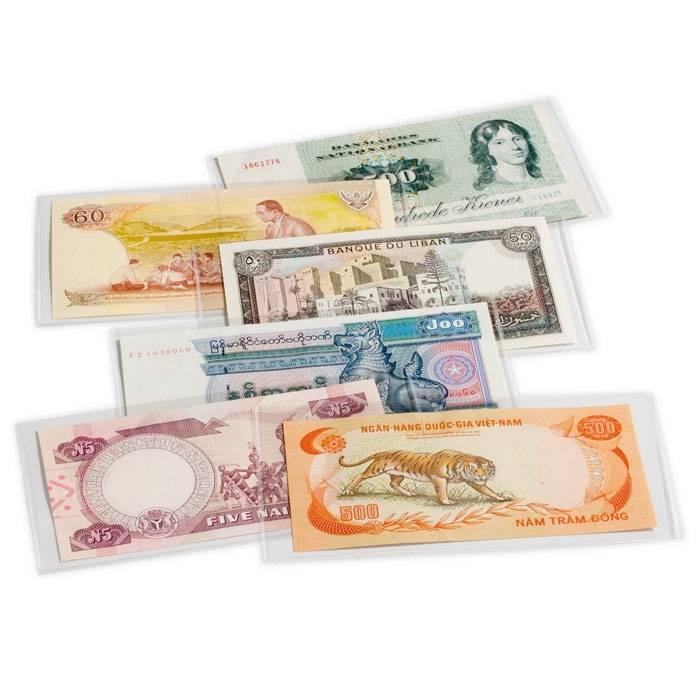 Folie na bankovky BASIC 204 (204x123 mm) 50 ks