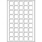 Mincovní plata TAB - 45 polí do 31 mm modré (1 ks v balení)