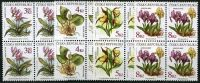 (1997) No. 135 - 138 ** - Czech Rep. - 4-er - Flowers