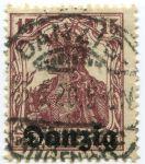 (1920) MiNr. 3 - O - Danzing - Svobodného stát Danzig