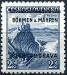 (1939) č. 15 ** - B.u.M. - 2,50 Kč - přetisková série - Strečno