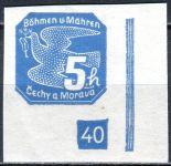 (1939) č. NV 2 ** (DČ: (17)-40) - B. ü. M. - Novinové známky