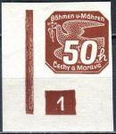 (1939) č. NV 8 ** (DČ: 1) - B. ü. M. - Novinové známky - 1
