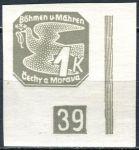 (1939) č. NV 9 ** (DČ: (1)-39) - B. ü. M. - Novinové známky