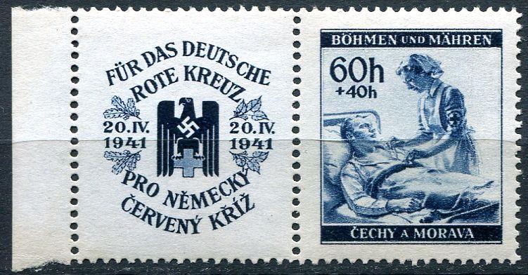 (1941) č. 52 ** KL-ol - B.ü.M. - Německý červený kříž II.