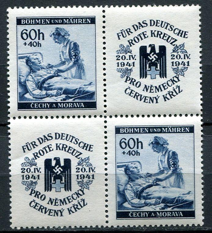 (1941) č. 52 ** VK-20 - B.ü.M. - Německý červený kříž II.