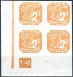 (1943) č. NV 10 ** - B. ü. M. - Novinové známky - 4-bl - A 1 - 43 - L