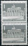 (1956) MiNr. 140 ** sp - Berlín - západní - Braniborská brána