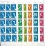 (1968) MiNr. 765 - 770 ** - Lucembursko - 15-bl - Letní olympijské hry, Mexico City